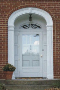 123 Brighton Style Screen Storm Door