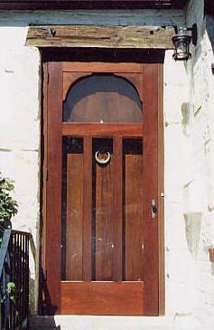 Manchester mahogany screen door style 212